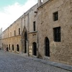 North Face - The Archaeological Museum In Rhodes