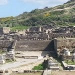 The Main Street Steps - Ancient Kamiros In Rhodes
