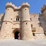 The Palace Of The Grand Masters In Rhodes