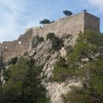 Monolithos Castle In Rhodes