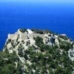 Monolithos Castle In Rhodes - Thanks to Karelj (Wikimedia Commons)
